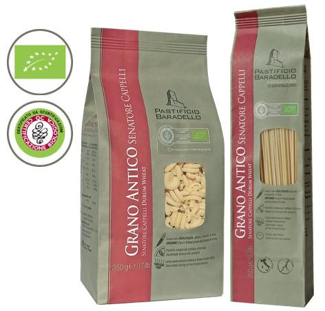 """Linea Grano Antico. Per la nostra linea """"Grano Antico"""" utilizziamo semola  di grano duro Senatore Cappelli coltivato e molito in Italia con metodo  biologico. 13faf9f0a34f"""
